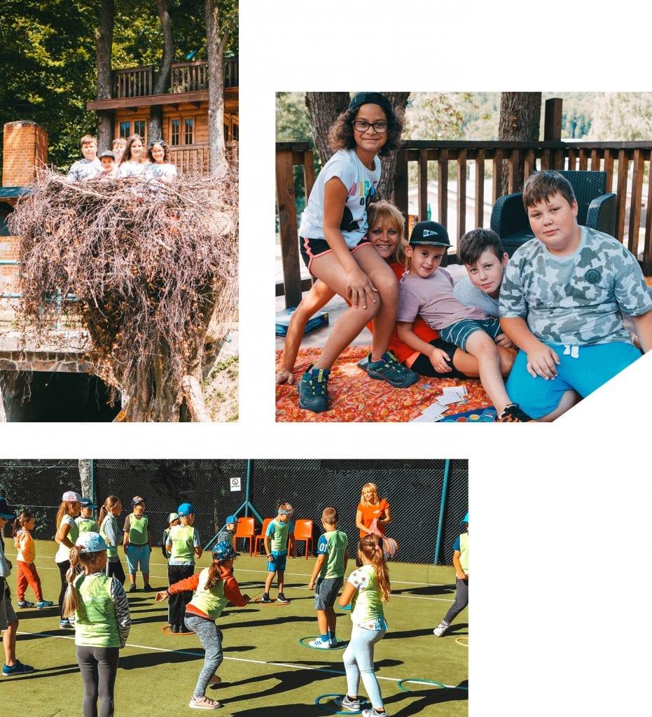 Oslavy a detské tábory