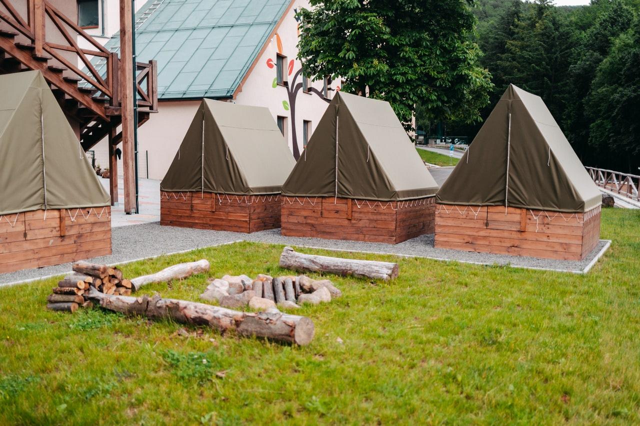 Stanový tábor Partizan Rezort